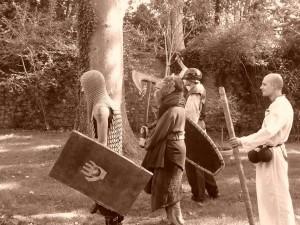 Les Héros Morts protègent l'Epée